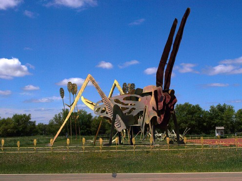 North Dakota has created the most jobs since 2009. It also offers prairies, oil & gas production, and this Enchanted Highway installation.