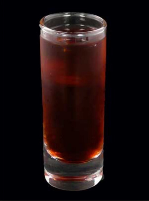 A refreshing mix of Jagermeister, Peach Schnapps, and Cranberry juice. Sweet to the last drop!