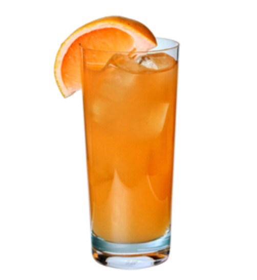 An inviting mix of  Sloe Gin, Southern Comfort, Orange Juice, and finished of with a float of Galliano.