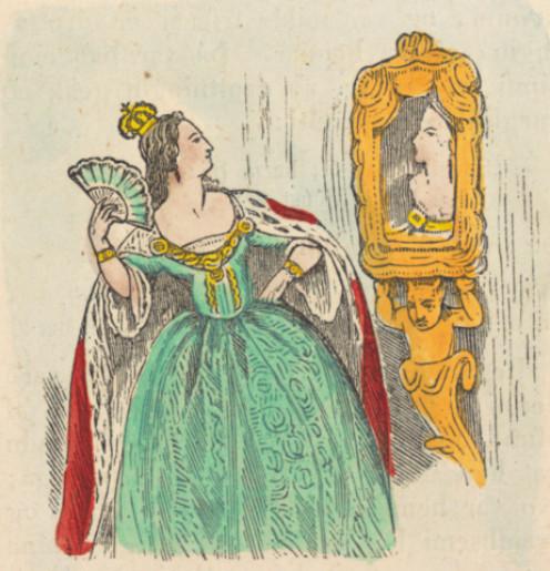 """Snow White Mirror 1"". Licensed under Public Domain via Wikimedia Commons -"
