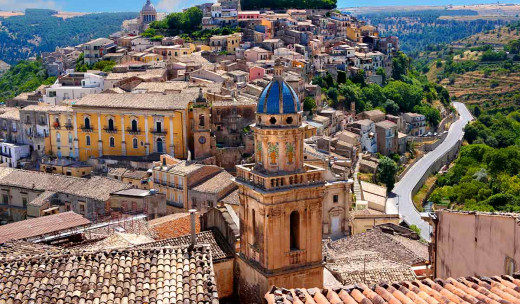 Discover the new city of Ragusa set against the ancient backdrop of the old