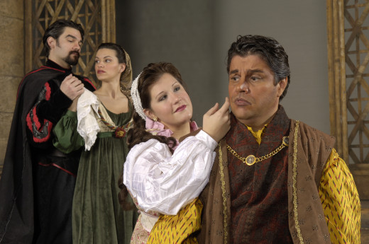 A performance of Otello