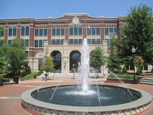 Morgan Square in Downtown Spartanburg