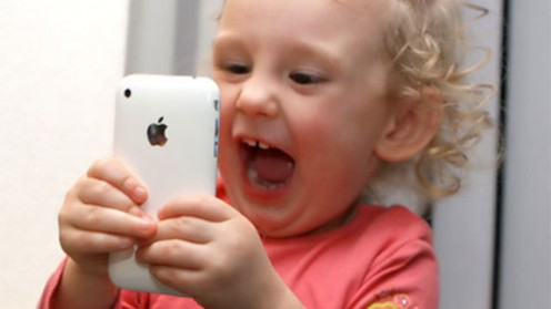 Iphones are more synonymous with children than soft toys these days. My 2 and half year old would love to sleep with an I-phone rather than her rabbit or teddy!