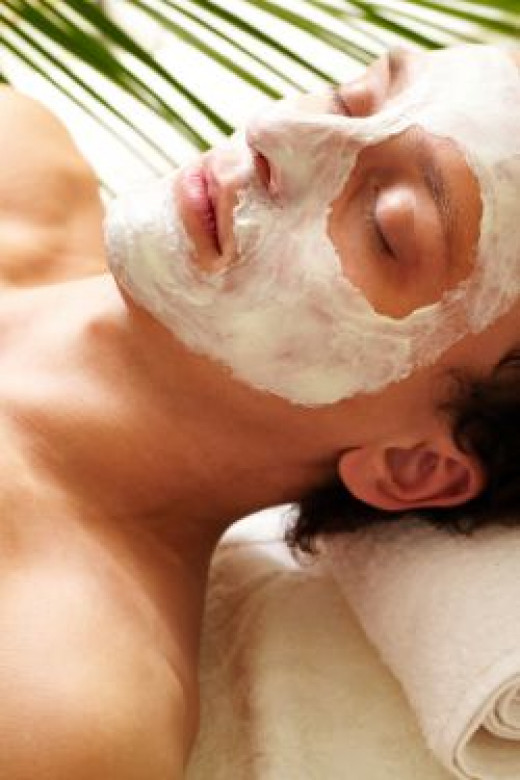 Facial treatments for men like facial masks are great for the skin.