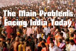The Main Problems Facing India Today