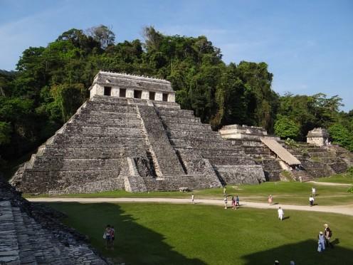 Ancient Mayan Construction