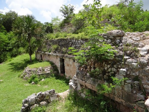 A Mayan Site