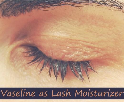 Vaseline Eyelashes