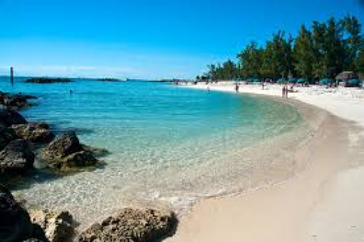 White sands of Key West