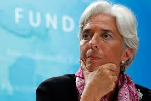 Christine Legarde Head of IMF