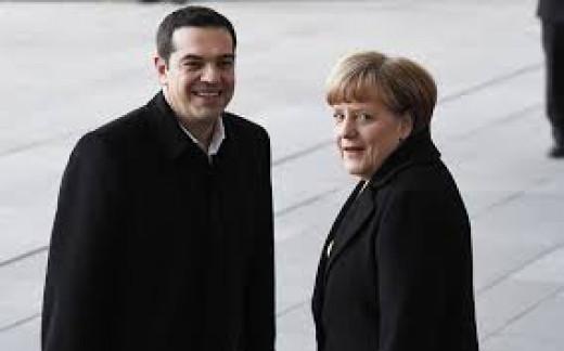 Merkel and Tsipras