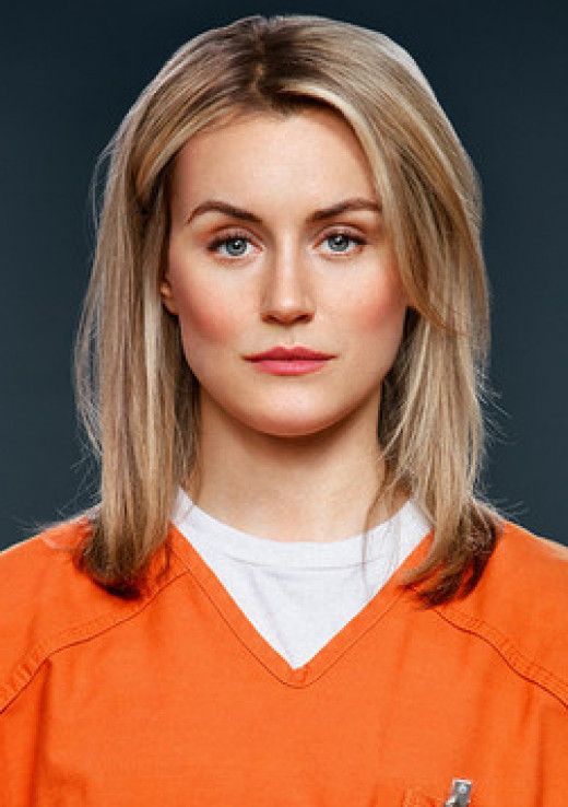 Piper- Main Character- Bi-Sexual privileged girl trying to find a way to fit in with the prisoners