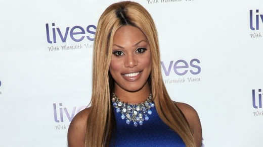 Lavern Cox was the first transgender person to ever appear on the cover of TIME magazine.  She is a wonderful actress, and in Orange Is The New Black she is the hair stylist and has a wonderful storyline- as she makes amends with her confused son