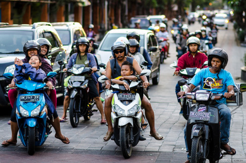 Motorcycle is a necessary if you live in Bali. Car itself is expensive and you will be trapped in traffic jam too anyway (unlike the slim motorcycle).