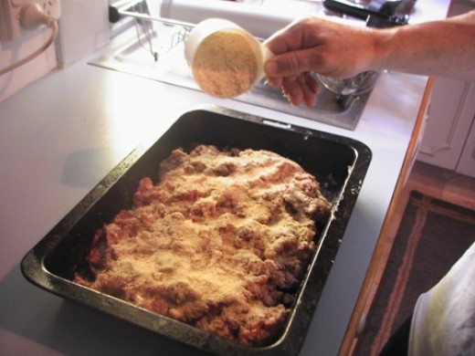 """I not sure how to show you this as I go off the feel of the mixture, if it feels a bit """"soggy"""" add some bread crumbs to help firm the mixture. I suppose you could say you need it to feel like a bought sausage."""
