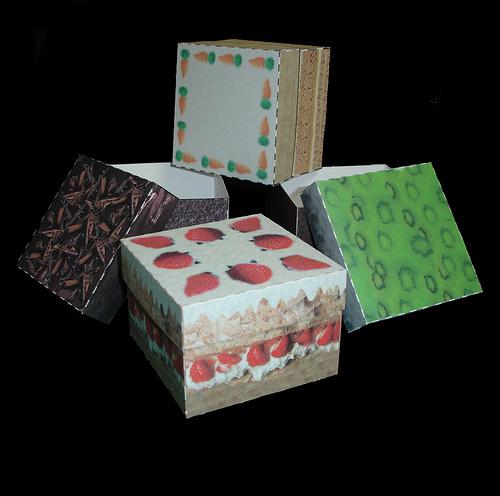 cardboard cake boxes - photo by glazedmud @ http://www.flickr.com/photos/glazedmud/