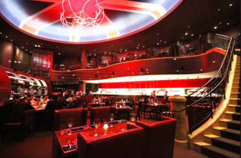 Inside of Gordon Ramsay Steak.