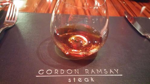 Cocktail at Gordon Ramsay Steak