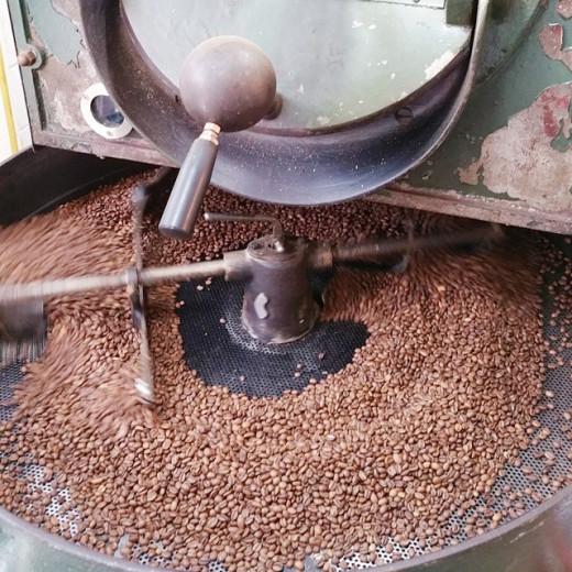 The way how beans are roasted define the taste of the coffee