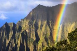 Kauai, where much of the Jurassic films were made.