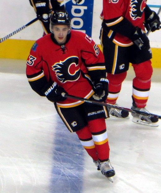 Johnny Gaudreau, otherwise known as Johnny Hockey, was 3rd in assists and 2nd in points during the regular season for the Flames.  He was their leading scorer in this year's playoff run.
