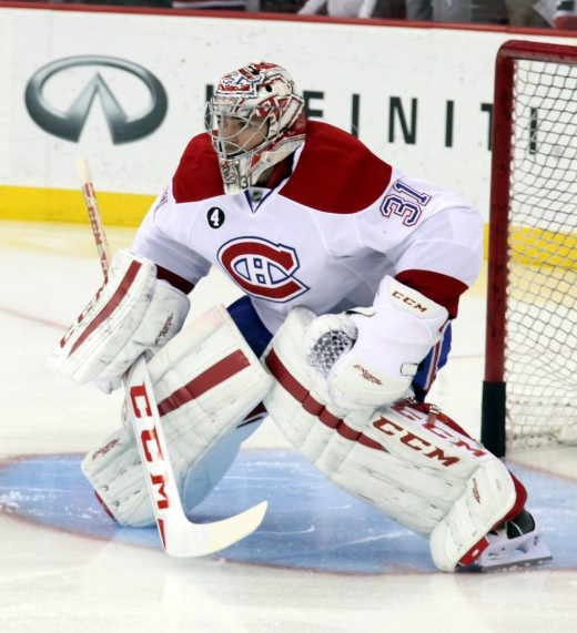 Carey Price had an incredible year for the Montreal Canadiens. He was 44-16-6 with 9 shutouts, a 1.96 GAA, and .933 save percentage.