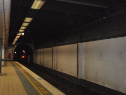 Underground at Central Station haunted.