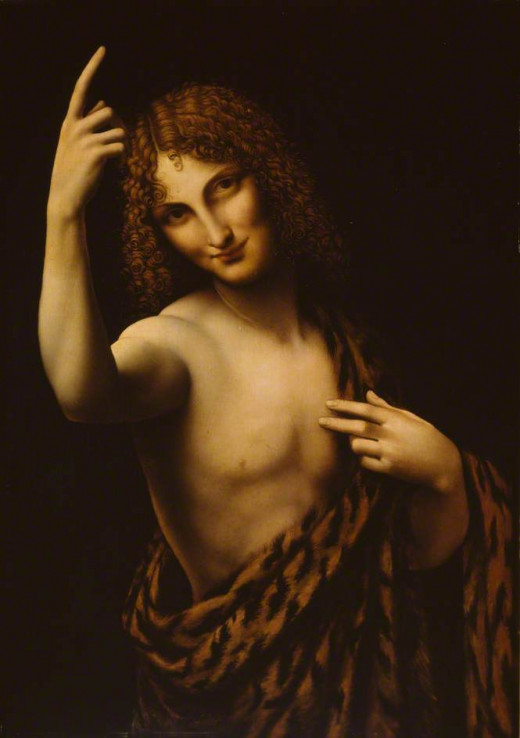 Salai as John the Baptist