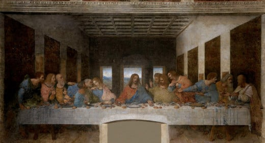 The Last Supper, public domain