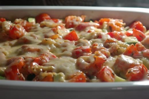 Delicious casserole