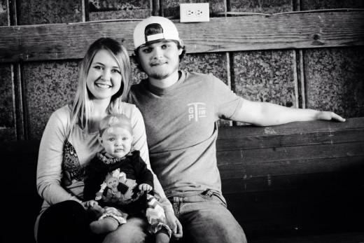 My little family.