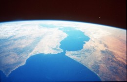 EARTH FROM GEMINI SPACECRAFT