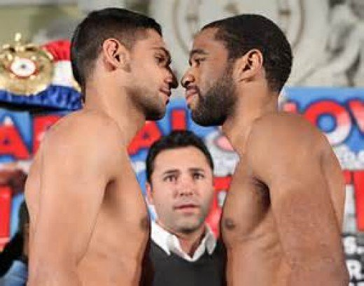 Lamont Peterson beat Amir Khan in front of his hometown fans for the junior welterweight championship.