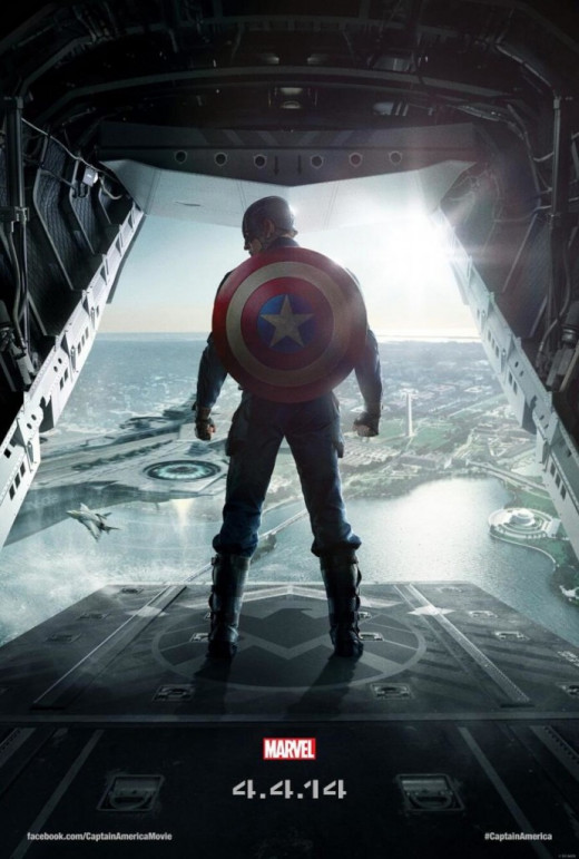 "Promotional poster for ""Captain America: The Winter Soldier"""