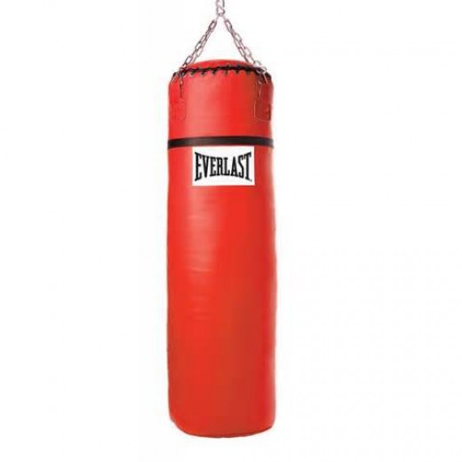 The heavy bag is a great way to work on combination and power punching.
