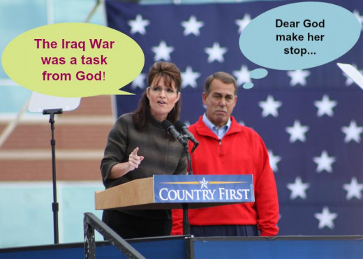 Sarah Palin is ethically challenged.