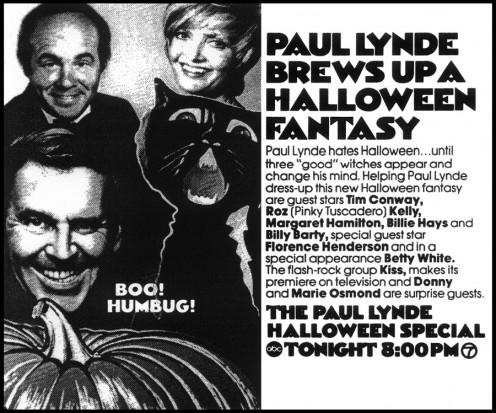 Vintage clipping for The Paul Lynde Halloween Special