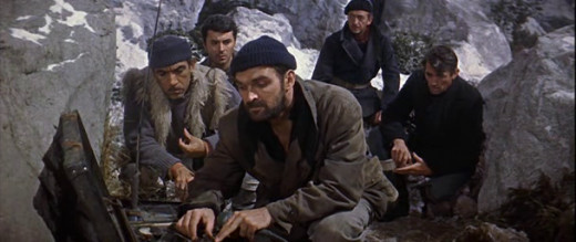 A Scene From 'Guns Of Navarone'