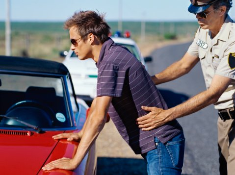 A frisk is a quick pat-down of a person's outer clothing.  A frisk can only be conducted under the reasonable suspicion that a person is armed and dangerous, as provided in Terry v. Ohio.