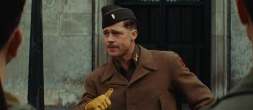Brad Pitt as Aldo Raine