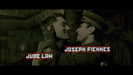 Jude Law as Vasily And Joseph Fiennes as Danilov
