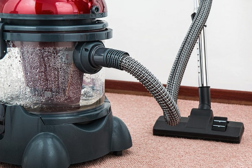 Using a vacuum cleaner regularly helps minimize dirt and dust.