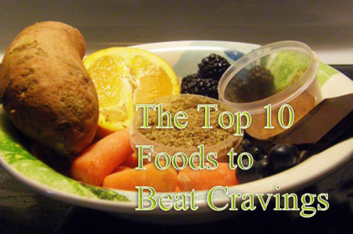 Ten foods to help curb carb cravings and make a healthy diet easier to accomplish