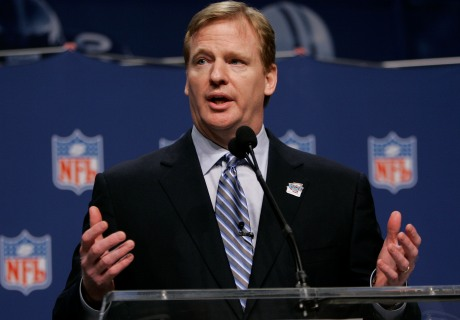 NFL Commissioner Roger Goodell appears as himself
