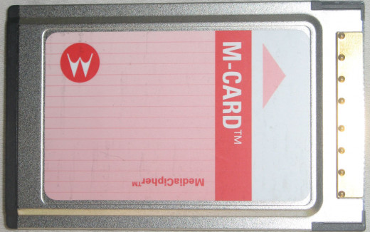 One of the most common M-Card CableCards