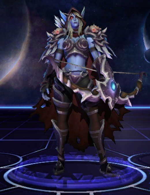 Sylvanas Windrunner, Dark Lady of the Forsaken