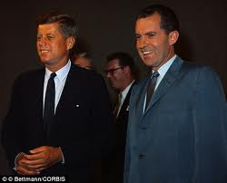 The political battle of the Decade, JFK and R. Nixon