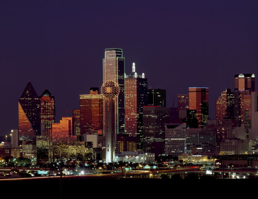 Outside metropolitan areas such as Dallas, the Tornado Alley has plenty of rural landscapes.