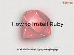 How to Install Ruby on Windows
